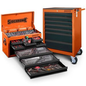 131748 sidchrome 262pc metaf tool kit orange scmt10159o