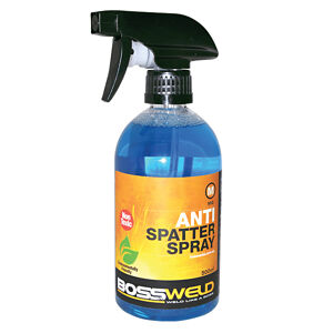 Antispatter spray water bottle