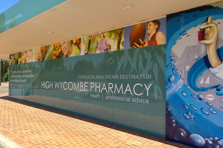 Pharmacy-sign