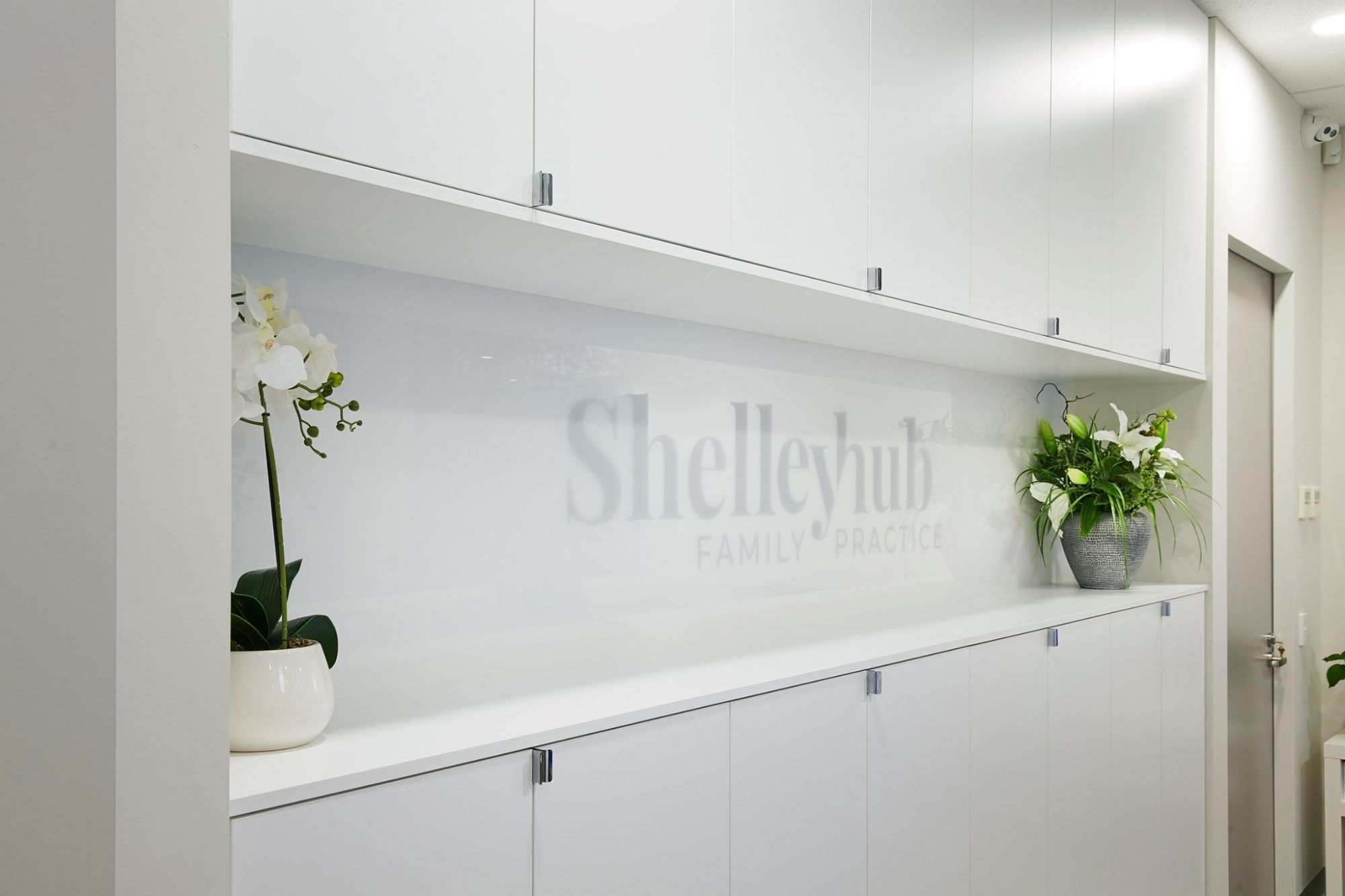 Reception decal
