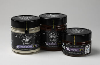 Monoflora creamed honey added to the collection