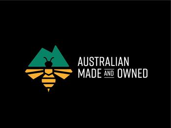 Australian Made & Owned Honey Logomark