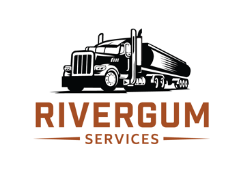 Illustration logo for a watercart trucking company