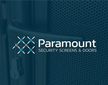 Security screen company's identity design